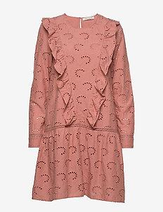 Dress - midi kjoler - rose