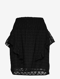 Skirt - korte nederdele - black