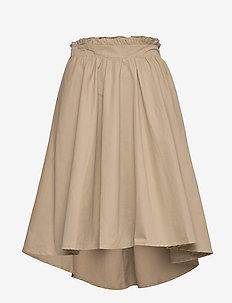 Skirt - midi skirts - camel