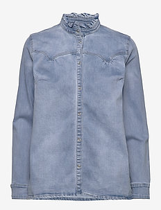 Shirt - long-sleeved shirts - blue
