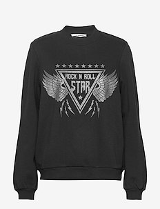 Sweat - sweatshirts - black