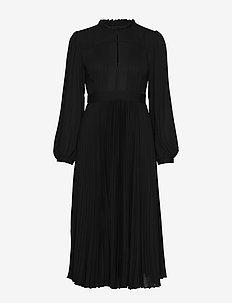 Dress - midi dresses - black