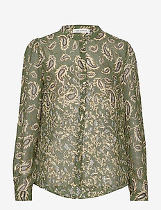 Shirt - langærmede bluser - dark green
