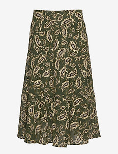 Skirt - maxi skirts - dark green