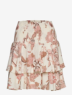 Skirt - korte nederdele - off white