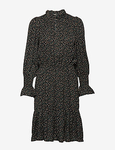 Dress - midi kjoler - black