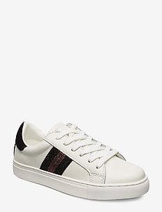 Shoe - sneakers med lav ankel - white black
