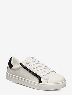 Shoe - lave sneakers - white black