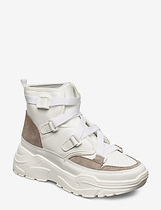 Shoe - chunky sneakers - white