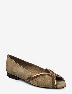 Shoe - ballerinas - green