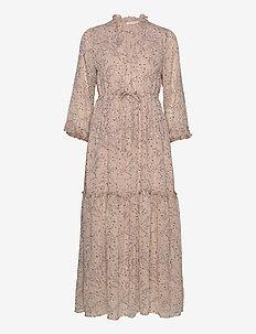 Dress - maxi dresses - beige