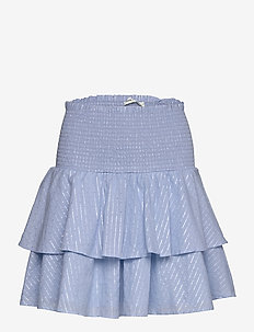 Skirt - midinederdele - light blue