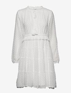Dress - short dresses - white