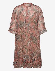 Dress - shirt dresses - rose