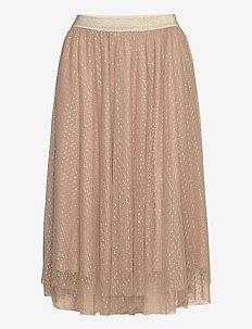 Skirt - maxi skirts - beige