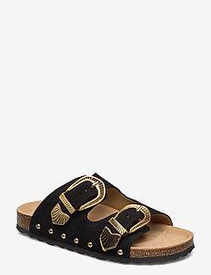 Sandal - pool-sandalen - black