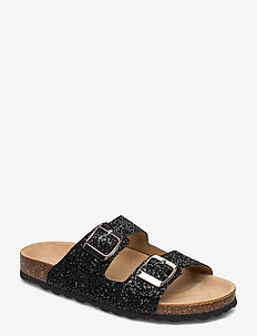Sandal - flade sandaler - black