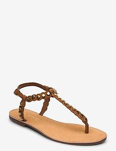 Sandal - flade sandaler - camel