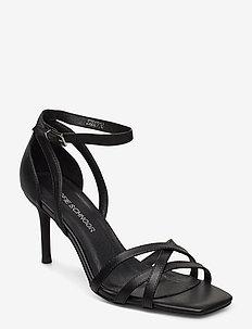 Sandal - heeled sandals - black
