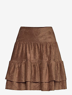Skirt - spódnice mini - brown