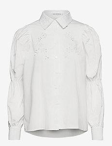 Shirt - långärmade skjortor - white