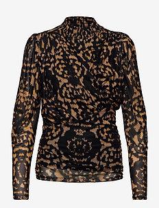 Blouse - langærmede bluser - leopard