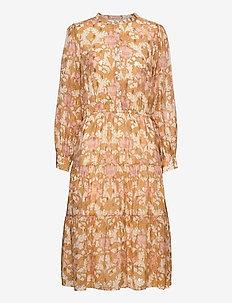 Dress - summer dresses - dark yellow