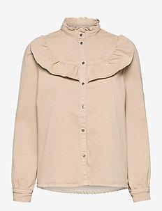 Shirt - langærmede skjorter - beige