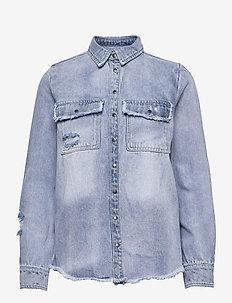 Shirt - denimskjorter - denim blue