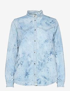 Shirt - jeansblouses - denim blue