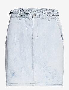 Skirt - denimnederdele - denim blue