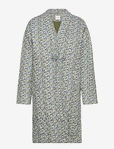 Jacket - uldfrakker - blue