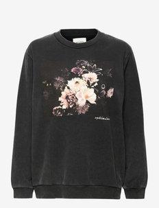 Sweatshirt - swetry - black