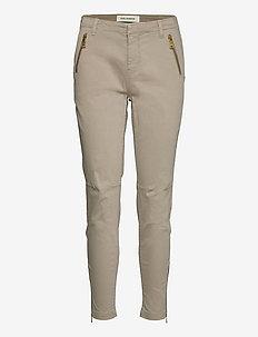 Pants - chinos - beige