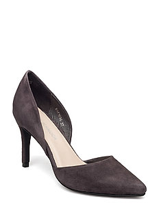 Suede stiletto - PURPLE STONE