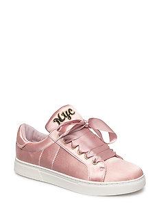 Shoe Sneak satin NYC - ROSE