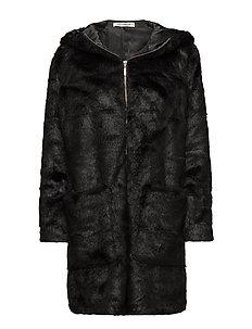 Parka coat - BLACK