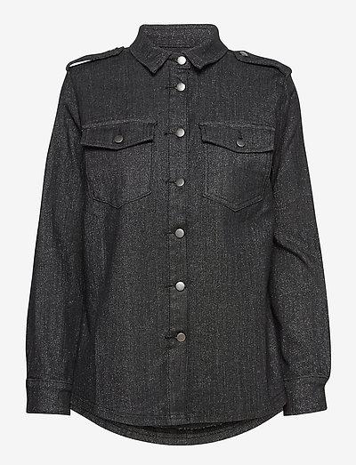 Harper - denimskjorter - black