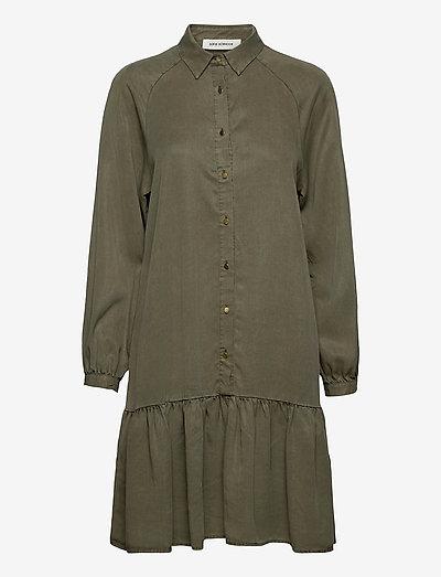 Dress - summer dresses - army green