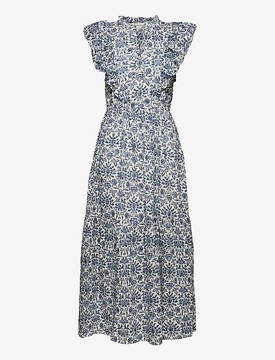 Dress - maxi dresses - dusty blue