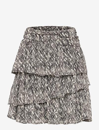 Skirt - korte nederdele - black