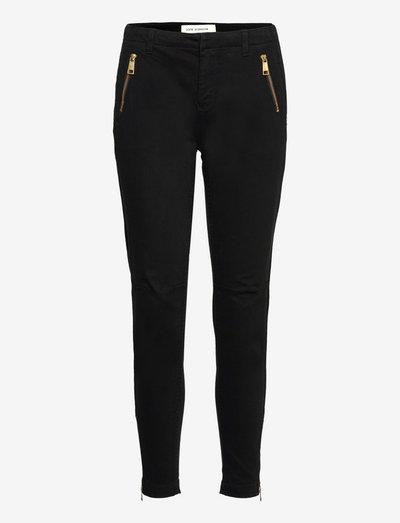 Pants - chinos - black