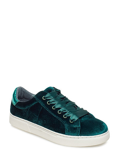 Shoe Sneaker velvet - DARK GREEN