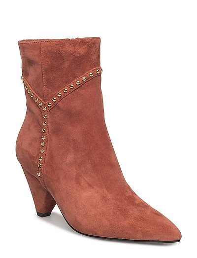 Boot with Y studs  gold - OCHER