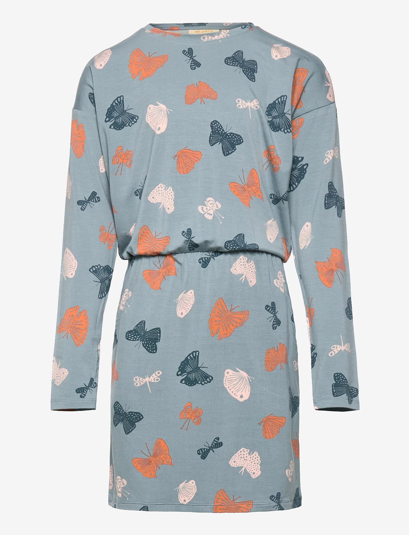Soft Gallery - Vigdis Dress - kleider - arona, aop fluttery - 0