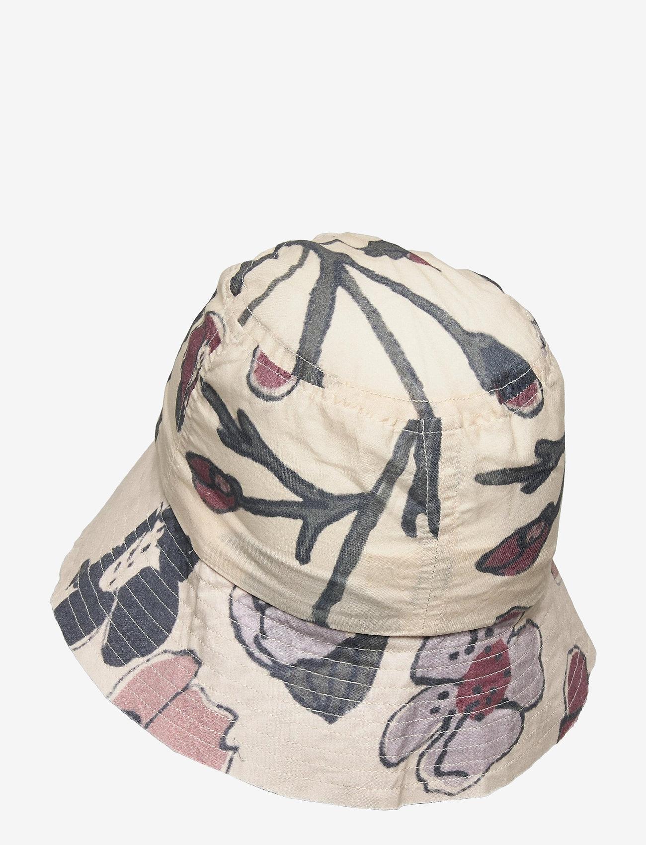 Soft Gallery - Camden Hat - huer & kasketter - powder puff, aop floral - 1