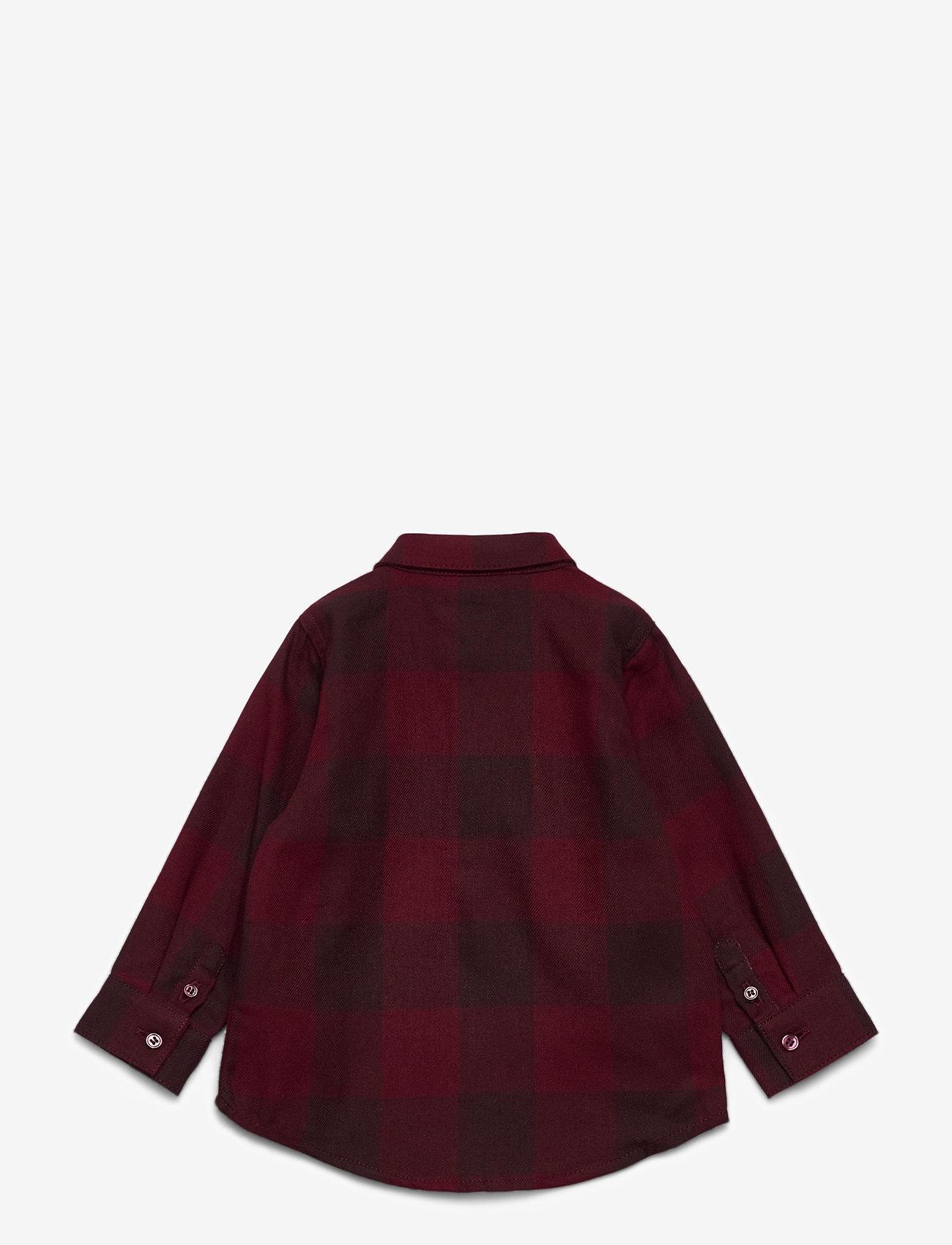 Soft Gallery - Baby Severin Shirt - overhemden - syrah overdye - 1
