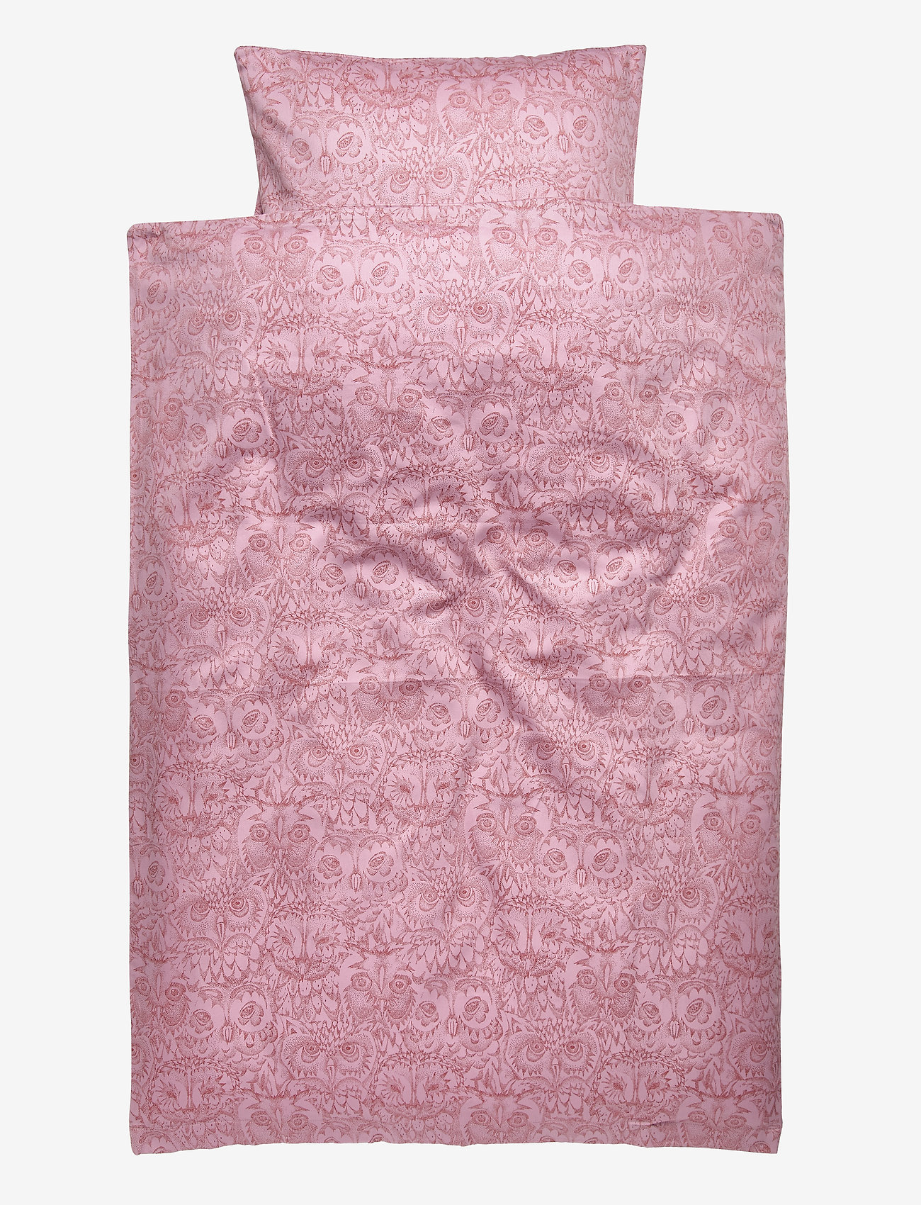 Soft Gallery - Bed Linen Baby - beddings - mauve shadows, aop owl lavender - 0