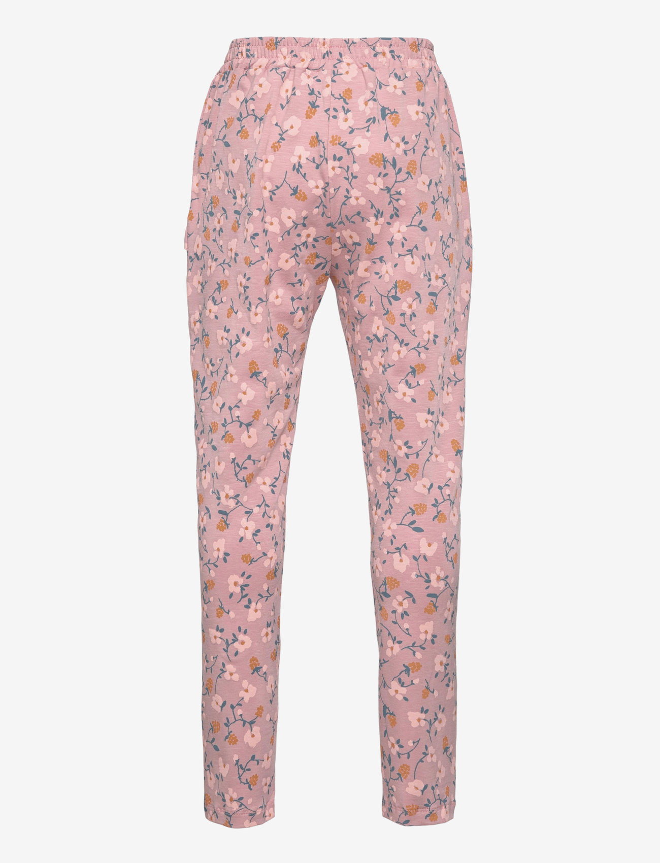 Soft Gallery - Lucy Pants - trousers - woodrose, aop flowerberry - 1
