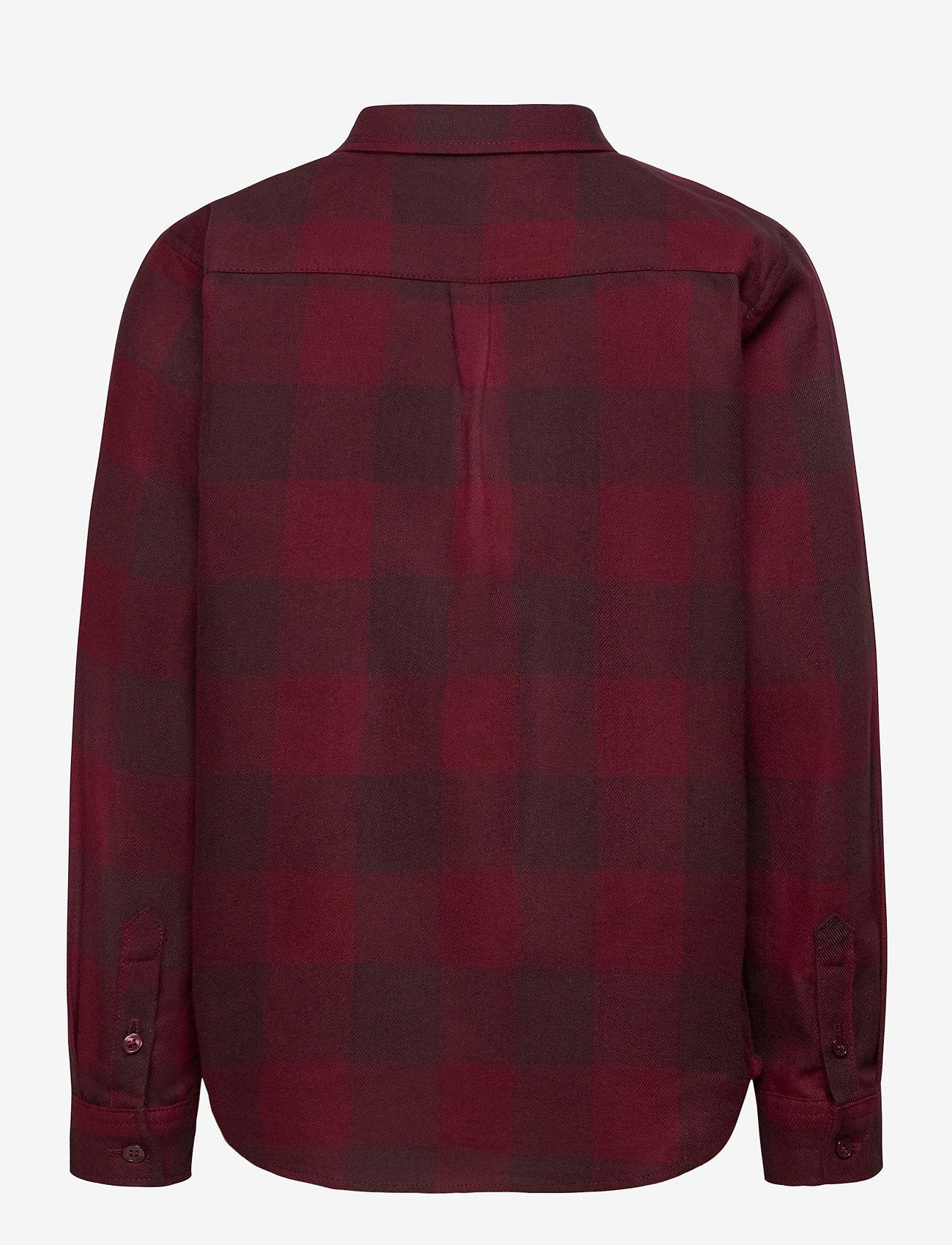 Soft Gallery - Bentley Shirt - overhemden - syrah overdye - 1